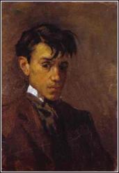 Pablo Picasso self-portrait painting