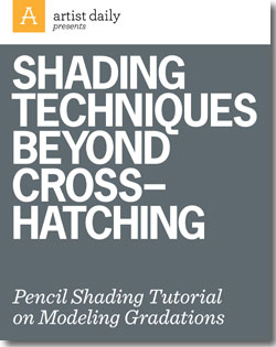 shading that goes beyond cross-hatching