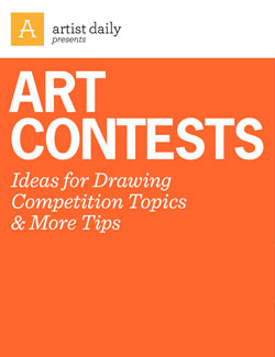 Entering art competitions for money: here's how it's done.