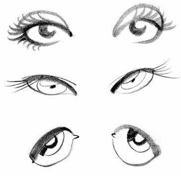 How to draw cartoon eyes: a free guide