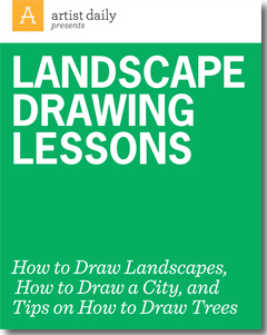 Draw landscapes like a pro with these free landscape drawing techniques and lessons