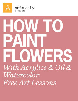 How to paint flowers with acrylics oil watercolor for Learn to paint online