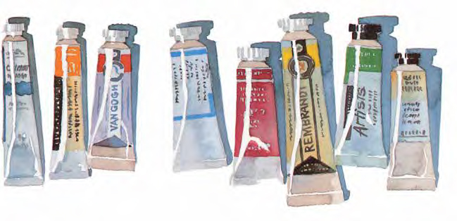 This watercolor art supplies list is a must-download!