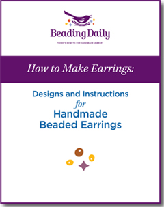 See how easy it is to make earrings with this free tutorial