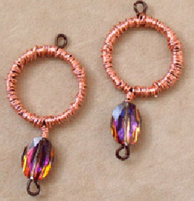 Follow easy instructions through beautiful earring designs