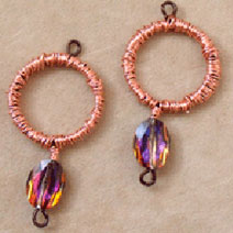 Free beaded earring project