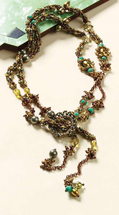 Learn how to make beaded rope jewelry