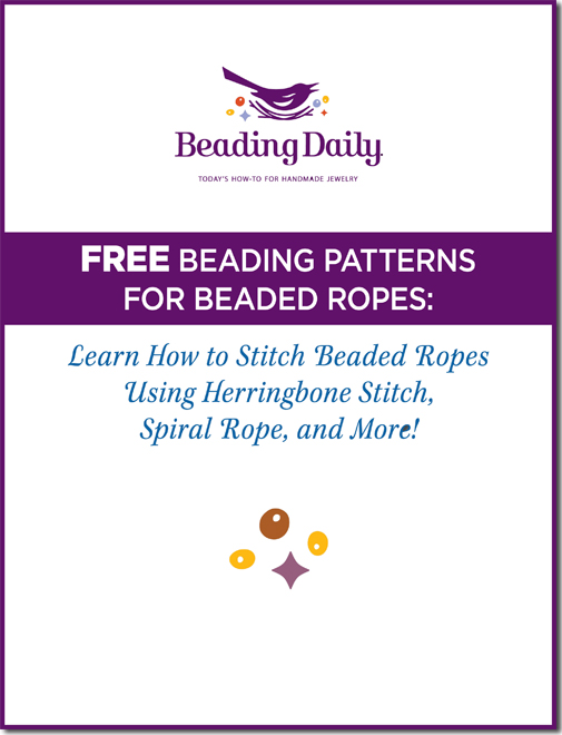 Get free beaded rope patterns!
