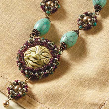 Learn to incorporate cabochon beads in your custom jewelry designs