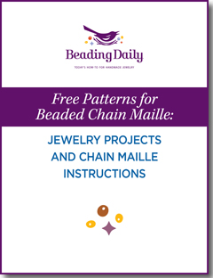 If you like chainmaille jewelry projects, then you'll love these free beaded chainmaille patterns from Beading Daily.
