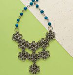 Discover tips to learn how to created beaded chain maille designs.