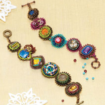 Learn how to make jewelry with bead embellishment
