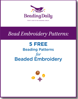 5 Free Bead Embroidery Patterns