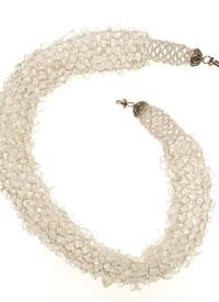 Gemstone Necklaces: Net Full of Gems