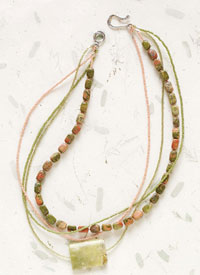 Gemstone Necklaces: Mile Marker 219