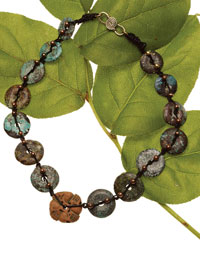 Gemstone Necklaces: Stone Temple Donuts