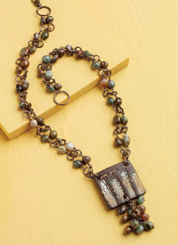 Gemstone Necklaces: Cobblestone