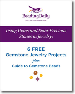 Get your four free gemstone necklaces plus guides to gemstone beads when you download this free eBook!