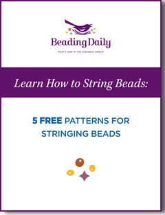 Easy to follow bead stringing instructions