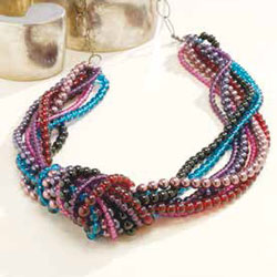 Learn how to bead string jewelry