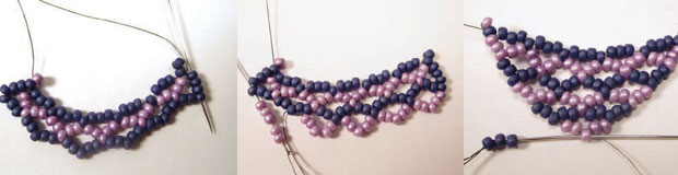 Create your own stunning beaded netting jewelry!