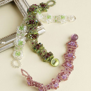 Free netting stitch patterns for jewelry