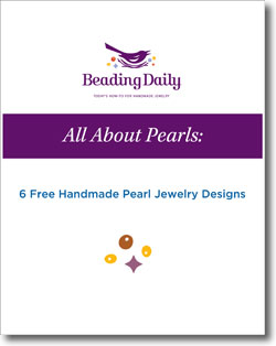 Download your 6 free handmade pearl jewelry designs.