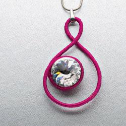 Jewelry Making Project #4: Diamante Locks
