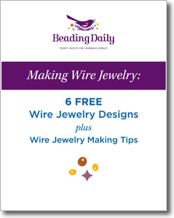 Download your six free jewelry designs plus free wire jewelry tutorials.