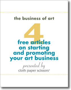 Download your 4 free articles on starting and promoting your art business.
