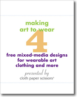 Download your free designs for wearable art clothing and jewelry.