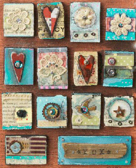 beginner collage project Craft Daily: A Free Weekend!