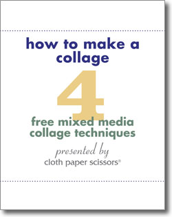 Download your free eBook to get all 4 mixed-media collage techniques.