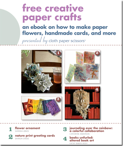 Create one-of-a-kind handmade paper crafts and get expert tips and techniques when you download this!