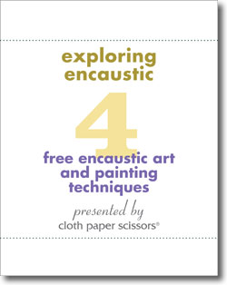Download your free eBook to start exploring encaustics to create mixed-media art.