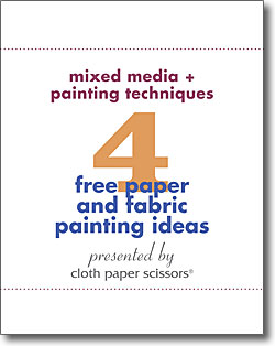 Don't forget to download your 6 free mixed media art techniques!