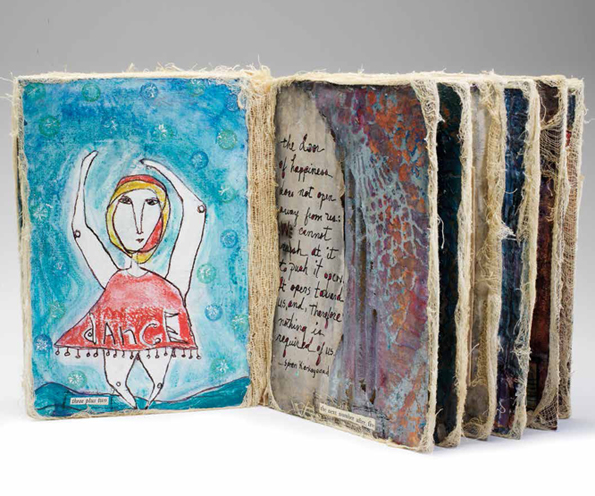 Handmade Books: Learn How To Make A Book Using Mixed-Media