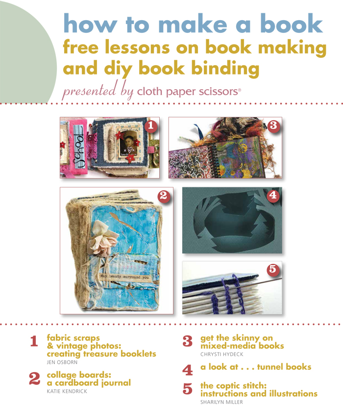 Learn how to make a book with this free collection of book making ideas, tips, and techniques!