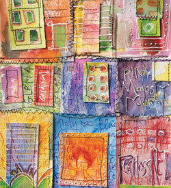 Mixed Media Painting - Color Wheel Journal by Diana Trout