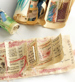 Textured Backgrounds and Journals - Pocket Scrolls By Leilani Pierson