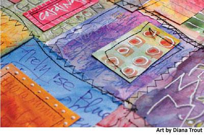 how to make mixed media art 1 Craft Daily: A Free Weekend!