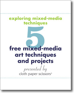 Explore the wide world of mixed media art when you download this free eBook.
