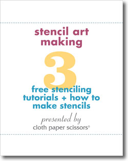 Download these Stenciling Ideas!
