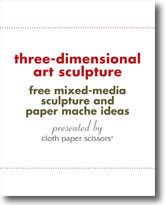 Three-Dimensional Art Sculpture