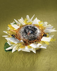 Upcycled Ideas: Mixed-Media Glass Flowers