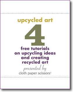 Don't forget to download your free Upcycling Ideas eBook