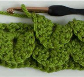 Crocodile Stitch Crochet Instructions