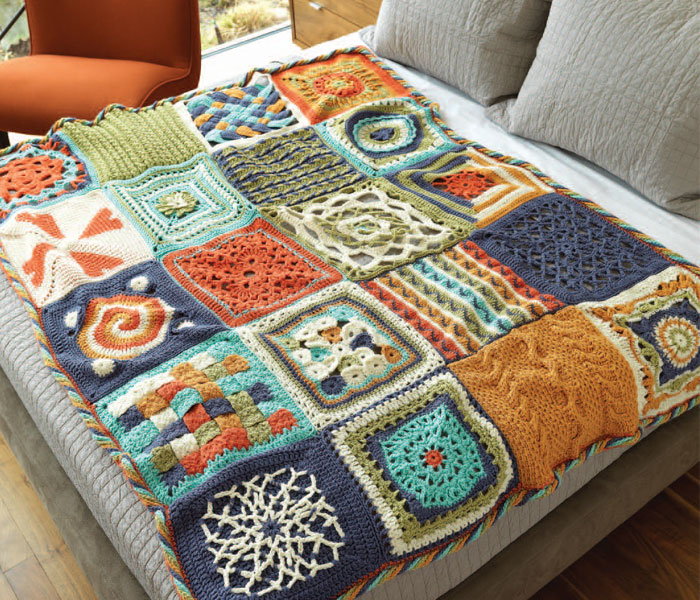 20 Free Crochet Afghan Patterns - CrochetMe