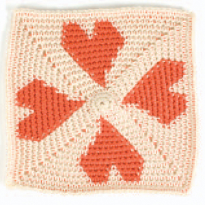 Tapestry Crochet Heart