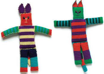 Funky Stuffed Toys (Cat & Dog) by Judith L. Swartz